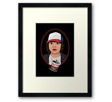 Dustin Henderson Framed Print