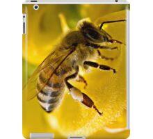 Black On Yellow iPad Case/Skin