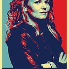 Emma Swan (Obama campaign poster) by TeganKain