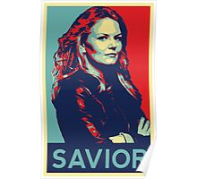 Emma Swan (Obama campaign poster) Poster