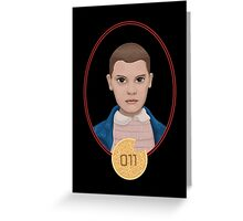 Eleven Greeting Card