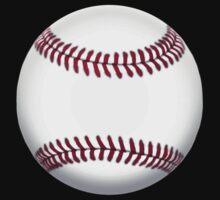 BASEBALL, BALL, SOFTBALL, Pitch, Pitcher, Sport, Game, Bat and Ball game, on BLACK One Piece - Short Sleeve