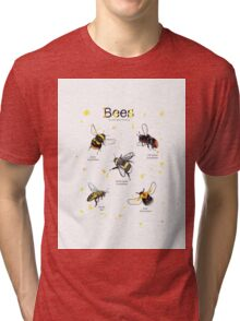 Top bees of britain Tri-blend T-Shirt