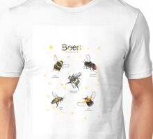 Top bees of britain Unisex T-Shirt