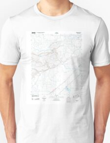 USGS TOPO Map Arkansas AR Garner 20110728 TM Unisex T-Shirt