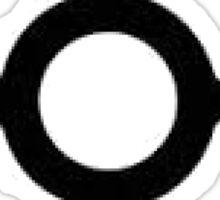 poke graph Sticker