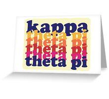 Kappa Theta Pi Greeting Card