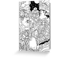 Fantasy: Story Unfolds Greeting Card