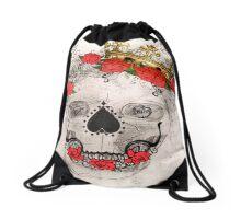 Royal Skull Drawstring Bag