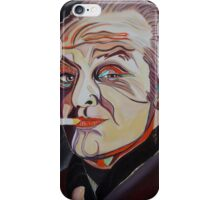 Jack Nicholson Portrait iPhone Case/Skin
