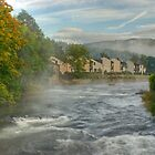 The River Leven At Backbarrow by VoluntaryRanger