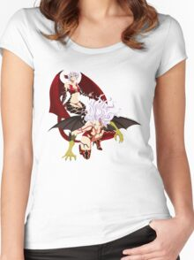 Fairy Tail (Sisters) Women's Fitted Scoop T-Shirt