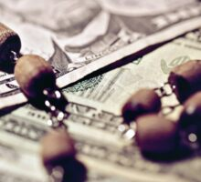 Politics Religion and Money Sticker