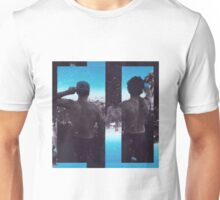 Dolan Twins- back blue Unisex T-Shirt