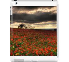 The Poppy Field iPad Case/Skin