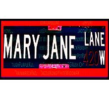 Mary Jane Lane Photographic Print