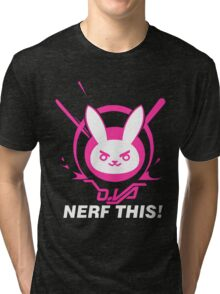 Overwatch Nerf This 2 Tri-blend T-Shirt