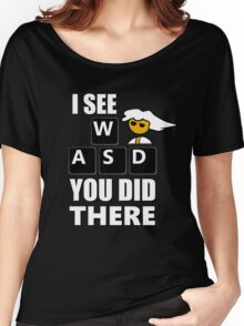 I see WASD you did there - Steam PC Master Race Women's Relaxed Fit T-Shirt