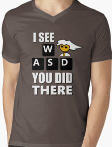 I see WASD you did there - Steam PC Master Race Mens V-Neck T-Shirt