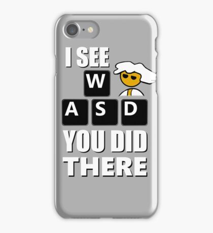 I see WASD you did there - Steam PC Master Race iPhone Case/Skin