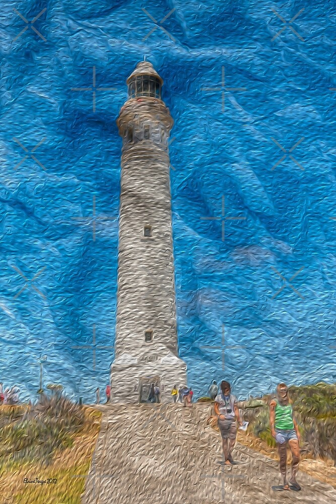 Cape Leeuwin Lighthouse, Augusta, Western Australia #2 by Elaine Teague