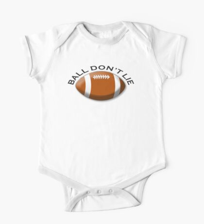 RUGBY, Sport, Game, Ball don't lie, One Piece - Short Sleeve