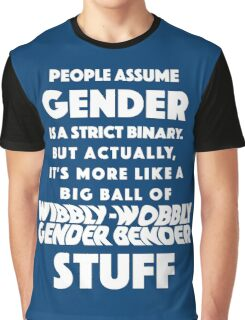 Wibbly Wobbly Gender Bender Graphic T-Shirt