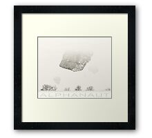 Think Too Much Swag Framed Print