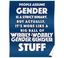 Wibbly Wobbly Gender Bender Poster
