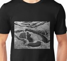 Rock Design Black And White Unisex T-Shirt