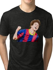CREATING !! LEO MESSI Tri-blend T-Shirt