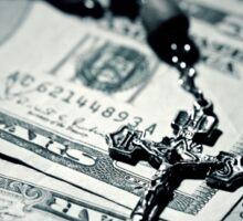 Politics Religion and Money - 2 Sticker