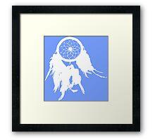 Native Dream Chatcher Silhouette Framed Print