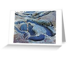 Rock Design Greeting Card