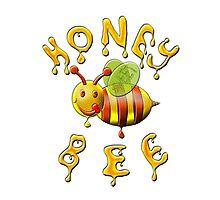 Honey Bee , Sweet . Photographic Print