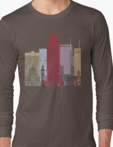 Montreal skyline poster Long Sleeve T-Shirt