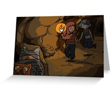 Cave adventure Greeting Card