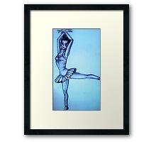 Ballet life Framed Print