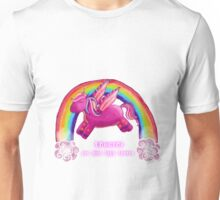Unicorns are just high horses Unisex T-Shirt
