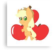 Chibi Applejack Canvas Print