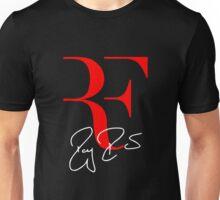 RF Logo Roger Federer Perfect Tennis Unisex T-Shirt