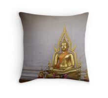 Thai Buddha I Throw Pillow