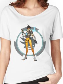 Overwatch Tracer Women's Relaxed Fit T-Shirt