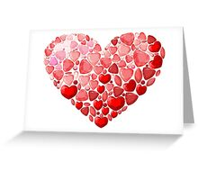 Jewel heart Greeting Card