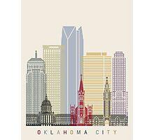 Oklahoma City skyline poster Photographic Print