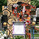 Klimt inspired grave. by Lee d'Entremont