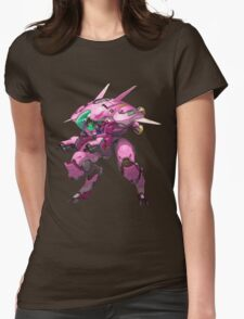 Overwatch D.Va 2 Womens Fitted T-Shirt