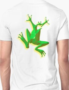 GREEN FROG, Jumping Jehoshaphat! Help! Its the Green frog! Pond life Unisex T-Shirt