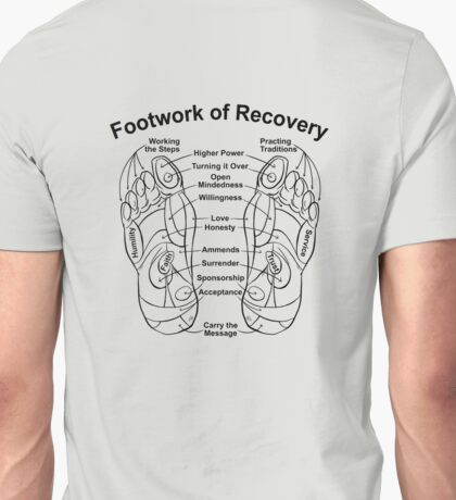 Footwork of Recovery Unisex T-Shirt