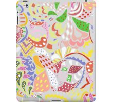 abstract light colored pattern iPad Case/Skin